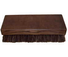 Wooden brush for clothes, with horsehair