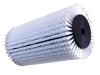 Roller brush, covered by nylon